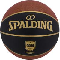 Bola De Basquete Spalding Tf-Elite Tournament Size 7 - Laranja Esc/Preto