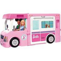 Mega Trailer Dos Sonhos Barbie Com Acessórios - Feminino-Rosa
