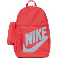 Mochila Infantil Nike Element 20 Litros - Unissex-Vermelho+Cinza