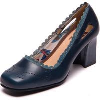 Sapato Vintage Azul - Passiflora / Riverside 5926