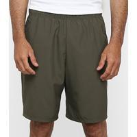 Bermuda Nike Flx Woven 2.0 Masculina - Masculino-Verde Militar