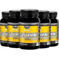 L-Glutamine 1000Mg - 5X 120 Cápsulas - Unilife - Unissex
