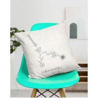 Amaro Feminino Design Up Living Capa De Almofada Signo 42X42, Câncer