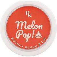 Blush Lip Bouncy Melon Red Pop -Rk By Kiss Único