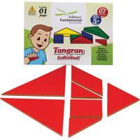 Tangram Individual Cartela Com 1 Jogo 07 Peças - Fundamental - Tricae