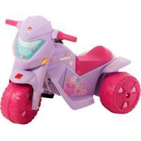 Mini Moto Elétrica Infantil Banmoto G2 2 Marchas - Unissex-Lilás