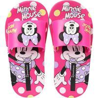 Chinelo Slide Infantil Ipanema Disney Pink