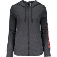 Jaqueta Adidas Essentials Linear Feminina Grafite