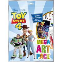 Livro Toy Story 4 - Mega Art Pack - Dcl Livros Dcl2447