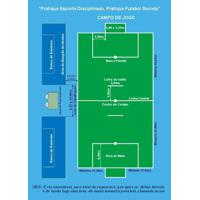 Rede Oficial Futebol Society 4M Fio 4(Nylon) - Par - Unissex