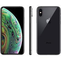 "Iphone Xs Apple 64Gb Ouro 4G Tela 5,8"" Retina - Unissex-Cinza"