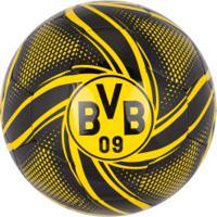 Bola De Futebol De Campo Borussia Dortmund Future Flare Puma - Preto/Amarelo