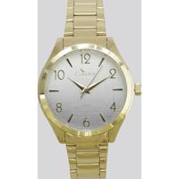 Relógio Analógico Condor Feminino - Co2035Krs4C Dourado