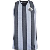 Camiseta Regata Do Santos Smell Dupla Face - Masculina - Preto