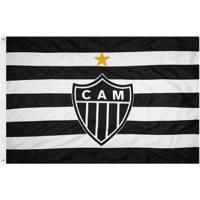 Bandeira Oficial Do Clube Atlético Mineiro 195 X 135 Cm - 3 Panos - Unissex