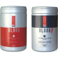 Red Iron Blond Pó Descolorante Forte 400G + Red Iron Pó Descolorante Extra Forte Blond Extreme 400G - Feminino