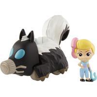 Mini Figura E Veículo - 15 Cm - Disney - Pixar- Toy Story 4 -Bo Peep E Gambá Móvel - Mattel Mini Figura E Veículo - 15 Cm - Disney - Pixar- Toy Story