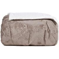 Cobertor Queen Cinza