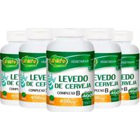 Levedo De Cerveja - 5X 400 Comprimidos - Unilife - Unissex