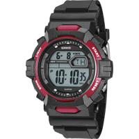 Kit De Relógio Digital Speedo Masculino + Carregador Portátil - 11017G0Evnp1Kb Preto