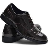 Sapato Oxford Ruggero Confort Masculino - Masculino-Cafe