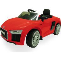 Carrinho 6 Voltz Audi R8 Red Vermelho Xalingo