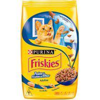 Ração Para Gatos Friskies Adulto Sabor Peixe E Frutos Do Mar 500G