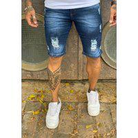Bermuda Alleppo Jeans Durban Escura