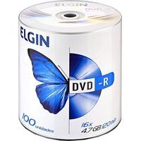Dvd-R 16 X 4.7 Gb/120 Min Bulk Com 10 Unidades Elgin