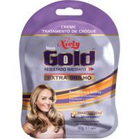 Creme Tratamento De Choque Niely Gold Exta Brilho
