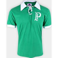 Camiseta Palmeiras Retrô 1915 Masculina - Masculino-Verde
