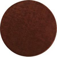 Tapete Classic Redondo- Marrom Escuro- Ø150Cm- Ooasis