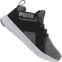 Tênis Puma Enzo Knit Nm Bdp - Masculino - Preto/Branco