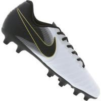 1c683de214 Chuteira De Campo Nike Tiempo Legend 7 Club Fg - Adulto - Branco Preto