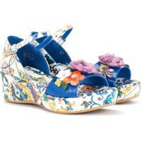 Dolce & Gabbana Kids Sandália Estampada - Estampado