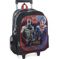 Mala Infantil Batman Vs Superman Ic31802Sb Preto