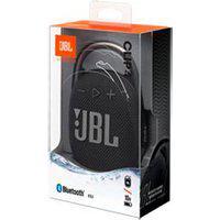 Caixa De Som Portátil Bluetooth Jbl Com Potência De 5 W Preta E Laranja - Jbl Clip 4