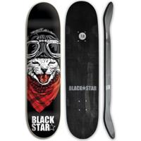 Shape De Skate Black Star Fiberglass Cat 7.8 + Lix - Unissex