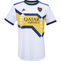 Camisa Boca Juniors Ii 20/21 Adidas - Feminina - Branco