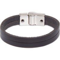 Bracelete Masculino Huerta Silver - Preto