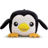 Esponja De Banho Soapsox Pinguim Preto E Branco - Tricae