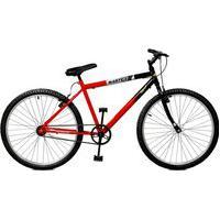 Bicicleta Master Bike Aro 26 Pop Vermelho/Preto
