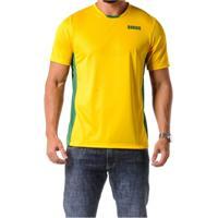 Camiseta Braziline Manga Curta Brasil Itaguaí Masc - Masculino