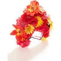 Fantasia Flor - Cabeca Multicolorido