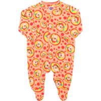 Pijama Tip Top Longo Baby Laranja