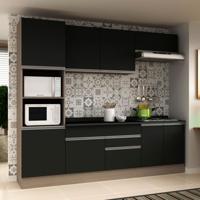 Cozinha Compacta Veneza 8 Pt 2 Gv Carvalle Com Onix