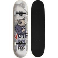 Skate Completo Iniciante Progress - Pgs Rato - Unissex
