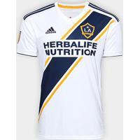 Camisa Los Angeles Galaxy Home 19/20 S/N° Torcedor Adidas Masculina - Masculino