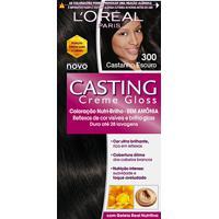 Tintura L'Oréal Casting Gloss 300 Castanho Escuro