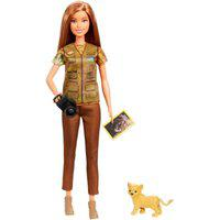 Barbie National Geographic Fotojornalista - Mattel